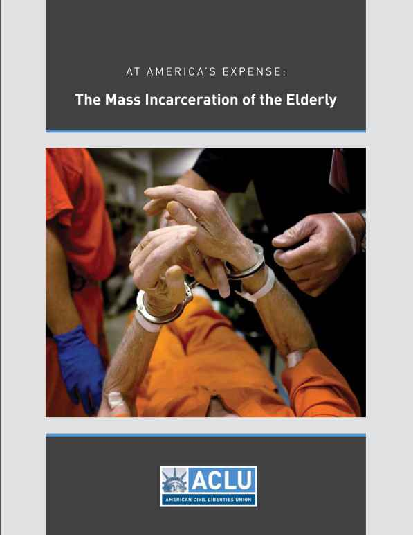 mass incarceration of the elderly report cover