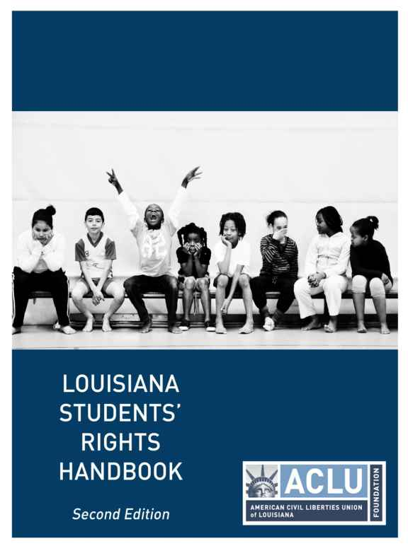 student rights handbook cover