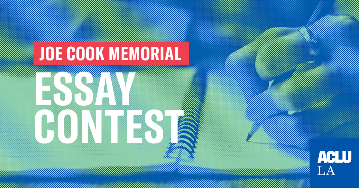 Joe Cook Memorial Essay Contest